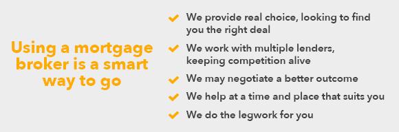 Using a mortgage broker